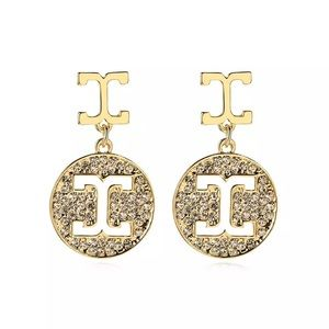🎀 Elegant Earrings Gold Plated Design 🎀